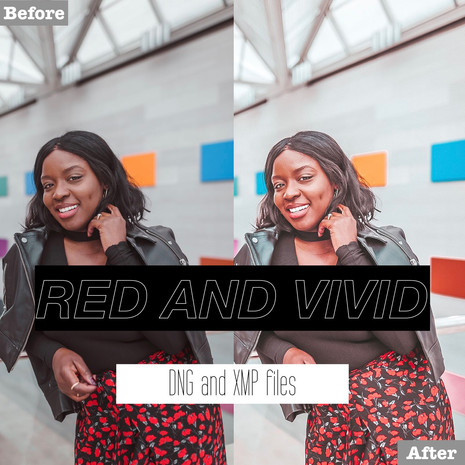 Red and Vivid Lightroom Presets