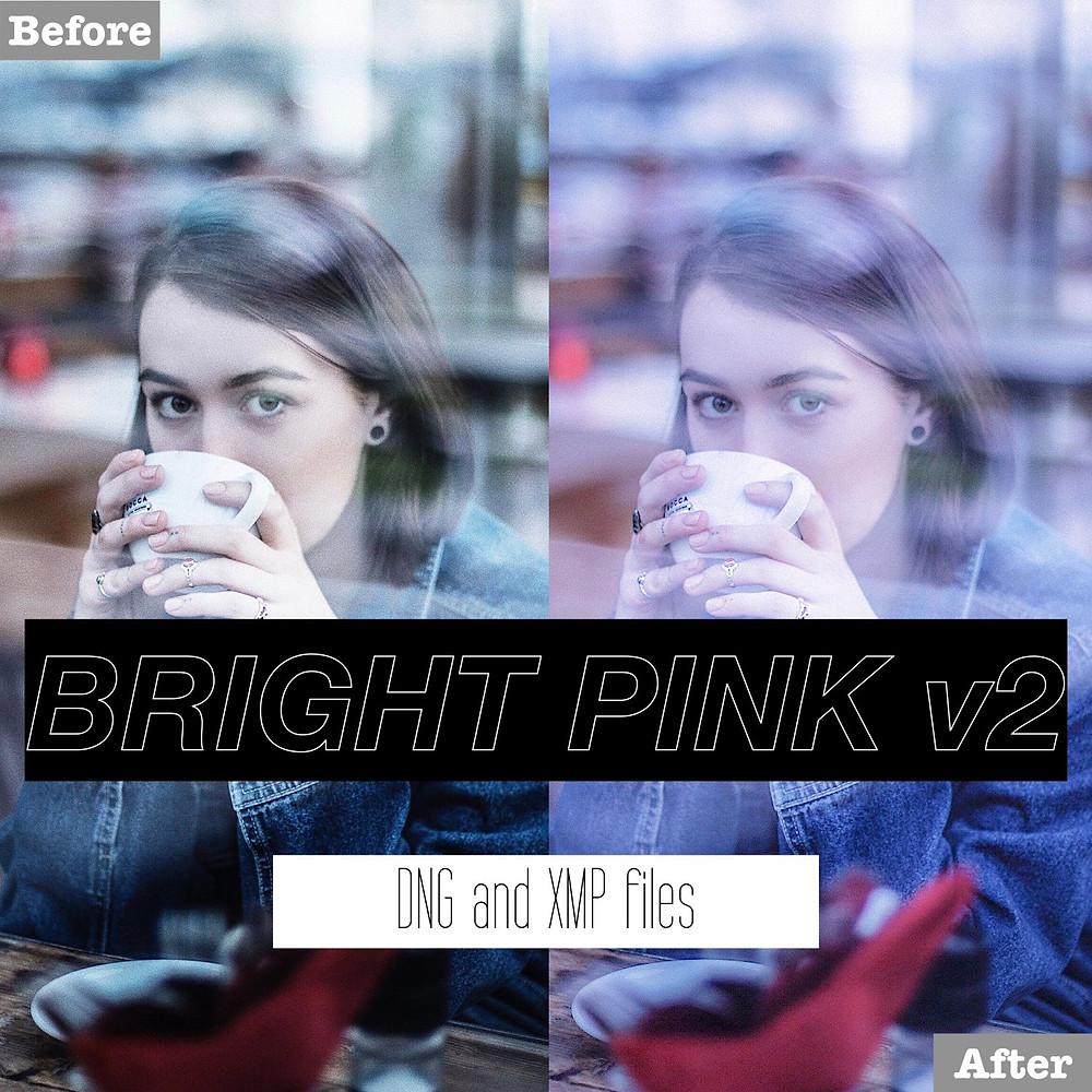Light Pink Lightroom Presets