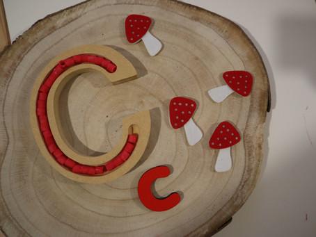 Atividades de Outono - Cogumelos e Girassóis - para Crianças de 3 a 6 anos