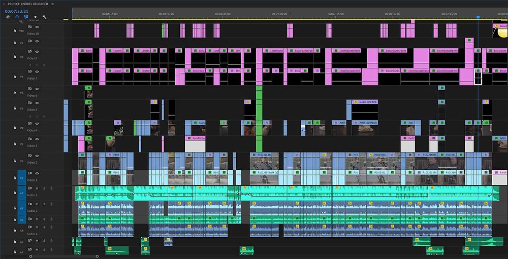 Das Sounddesign ist in der Nachbearbeitung ein nicht zu unterschätzender Bestandteil des Prozesses.