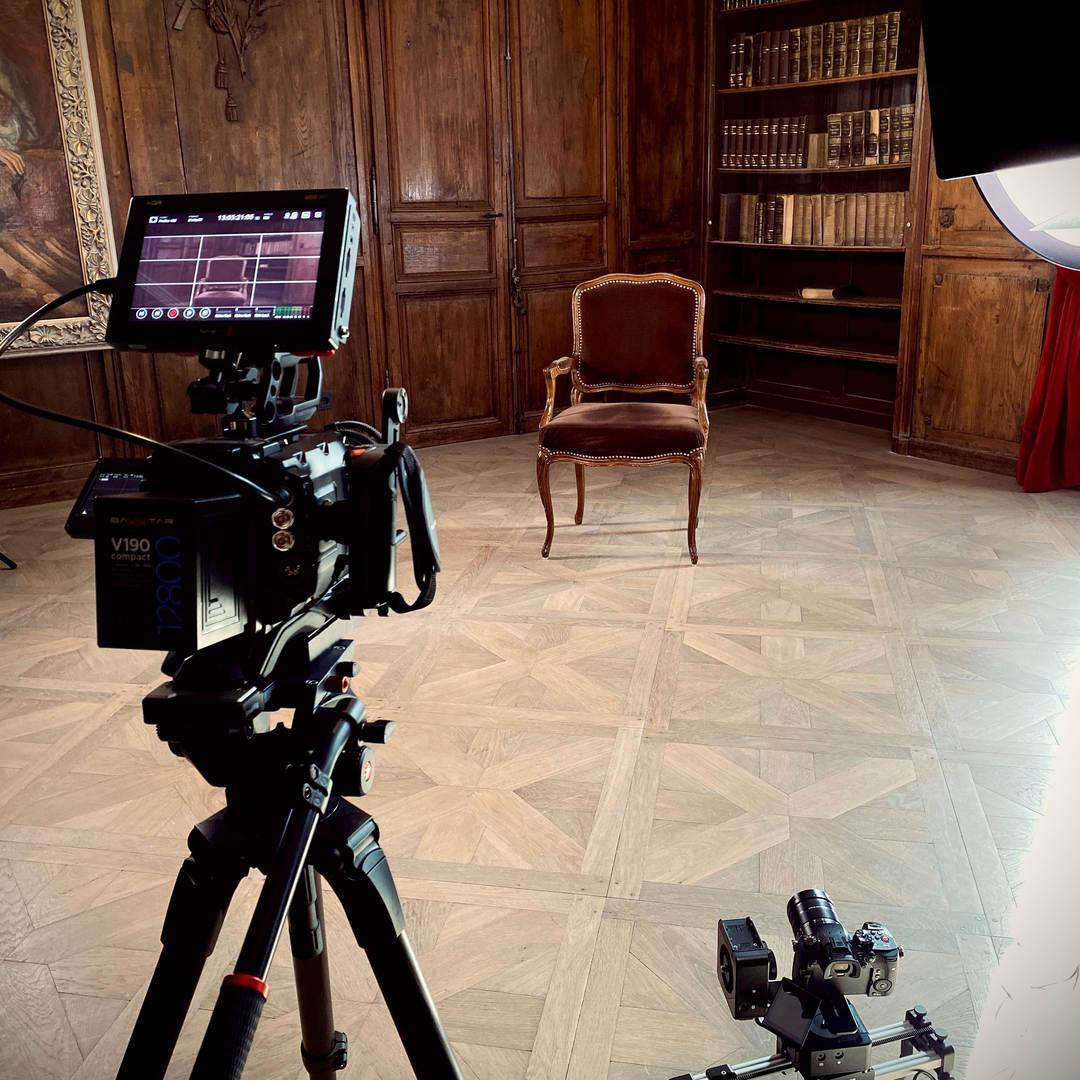 interview-filmset