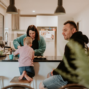 Life at Home with the Burgers  I  Adelaide family photographer
