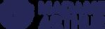 Logo_horizontal_MadameArthur_bleu fonce