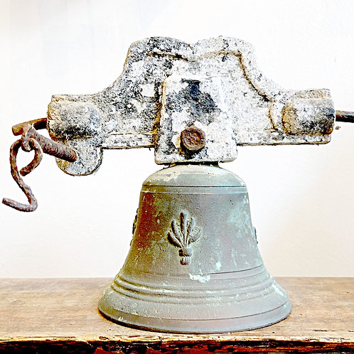Vintage French Bronze Bell