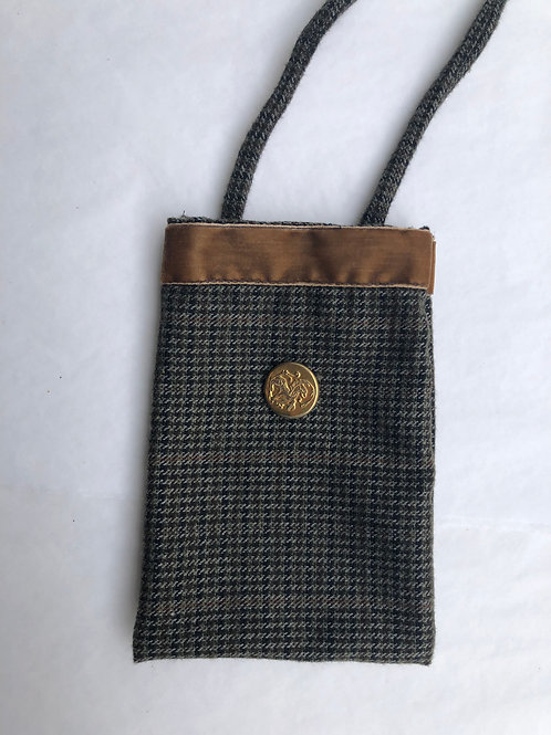 Tweed Phone Pocket