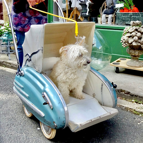Vintage luxury lowride stroller pram kinderwagen