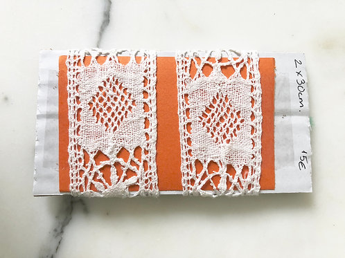 Antique Handmade French lace