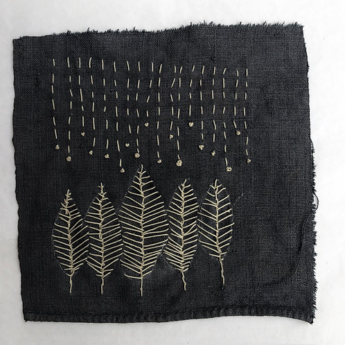 Winter trees Embroidery
