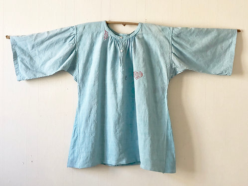 Smock - Vintage French Linen Nightshirt