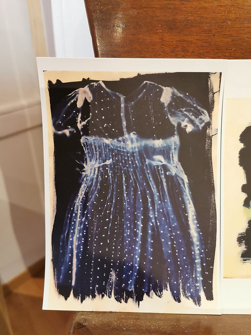 Cyanotype Postcards