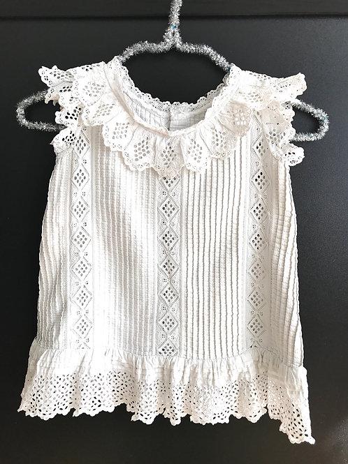Vintage handmade French baby dress