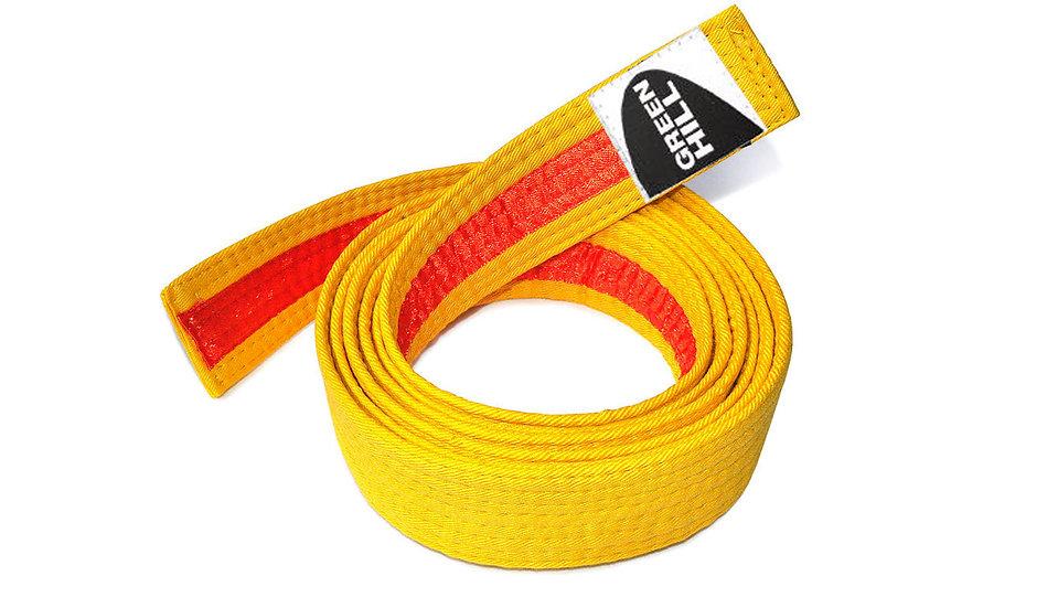 Judo Belt Yellow-Orange