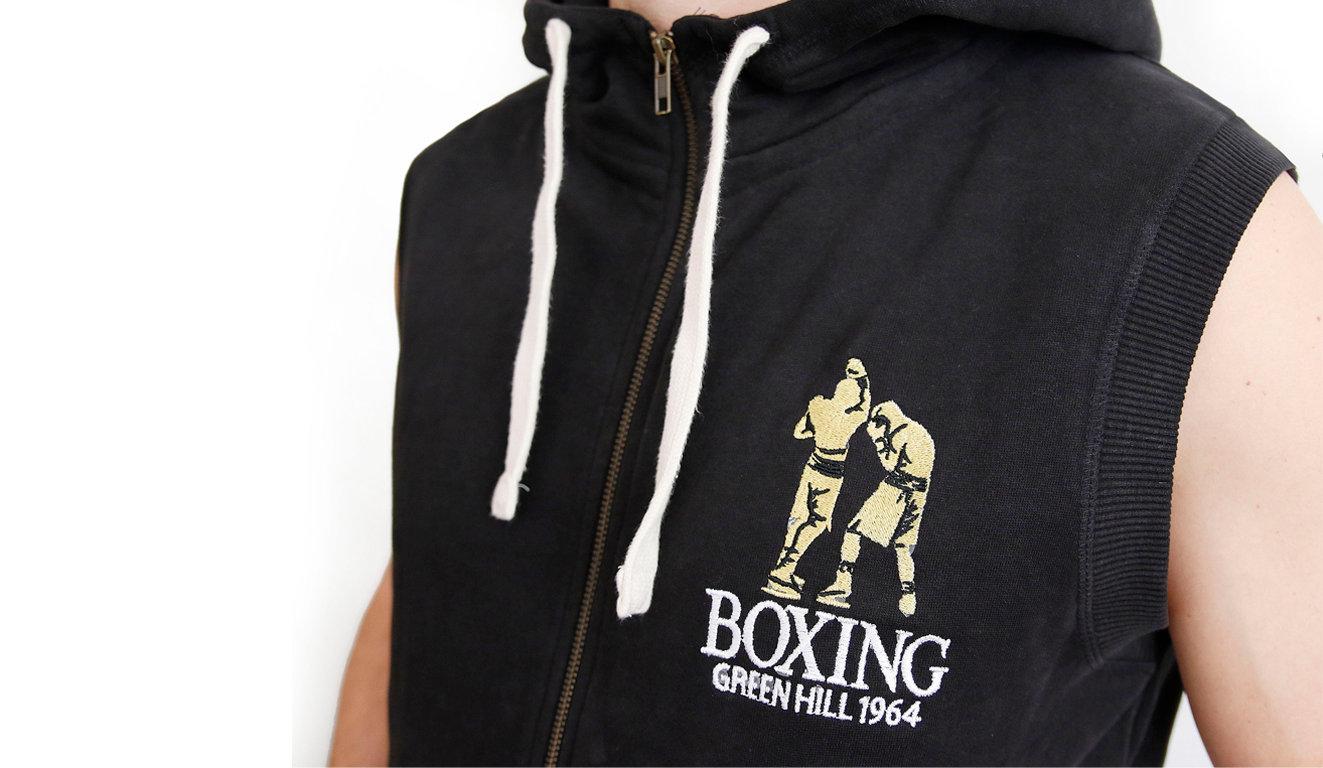 online store 91313 51aa4 Felpa Boxing smanicata