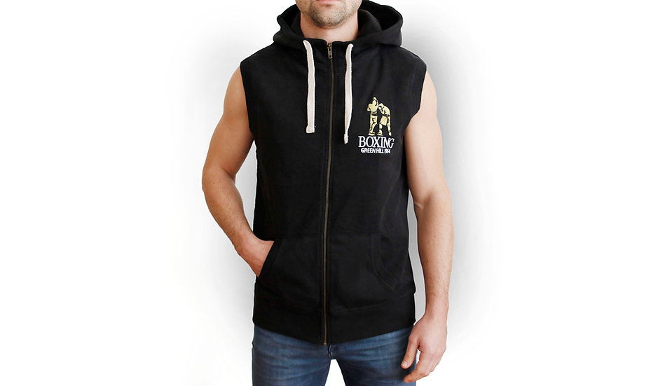 Male Boxing Sleeveless Sweatshirt