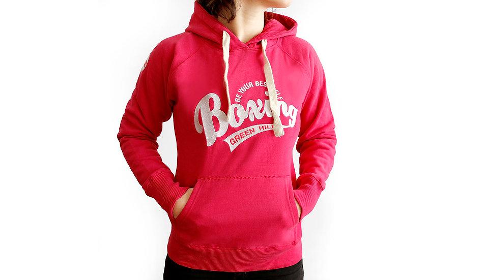 Female Boxing hood sweatshirt