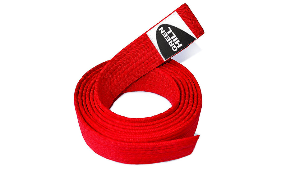 Judo Belt Red
