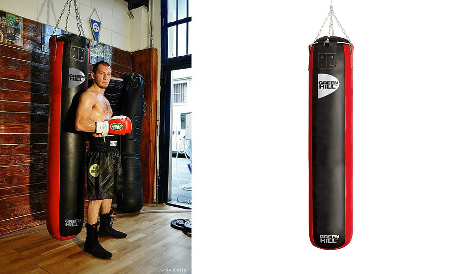 Sacco in pelle 180x35 Kick Boxing