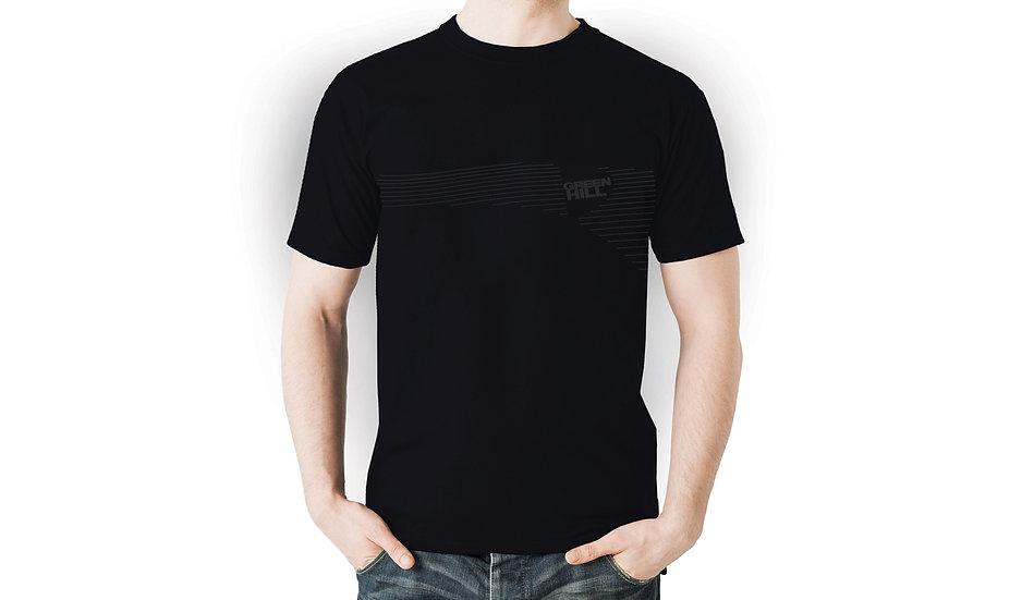 Male T-Shirt Green Hill