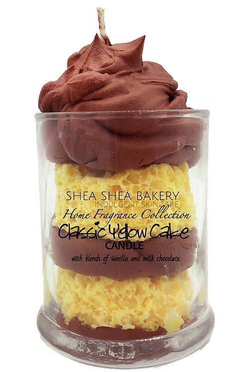 Yellow Cake in a Cup Candle