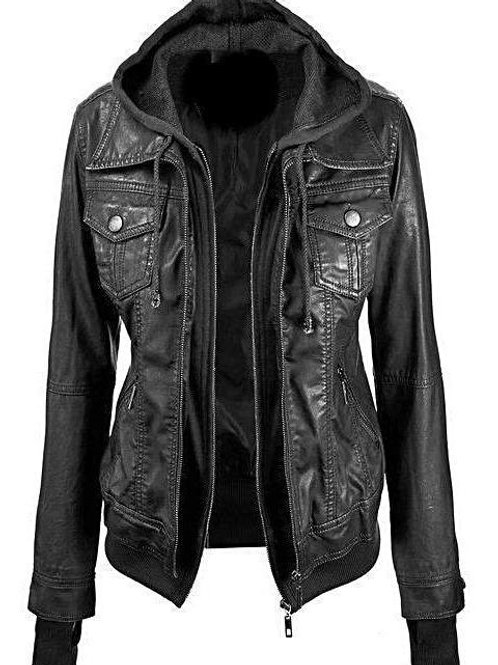 Annalise Womens 100% Lambskin Leather Jacket