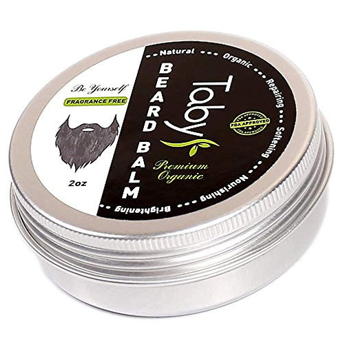 Beard Balm with Argan & Jojoba Oils - Eucalyptus Scent Conditioner
