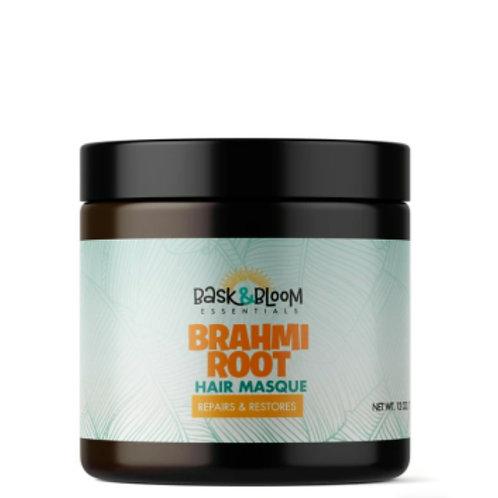 Bask & Bloom Brahmi Root Hair Masque 12oz