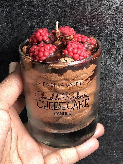 Limited Edition Chocolate Raspberry Cheesecake Candle