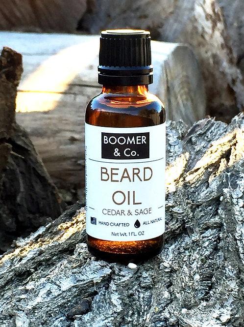 Cedar and Sage Beard Oil