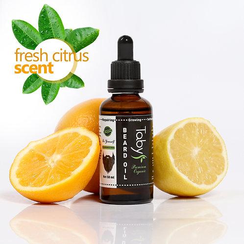 Beard Oil For Men (2 oz) Fresh Citrus Scent