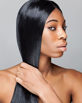 Black beauty with long straight and shin