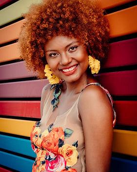 afro american woman fashion cool very ha