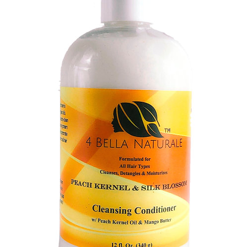 Peach Kernel & Silk Blossom Cleansing Conditioner