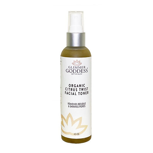 Gimmer Goddess Organic Citrus Twist Facial Toner Mist w/Aloe Vera