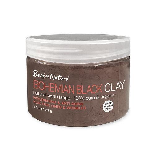 Bohemian Black Clay  - Natural Earth Fango