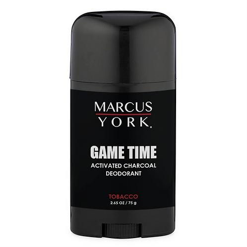 Game Time - Activated Charcoal Deoderant
