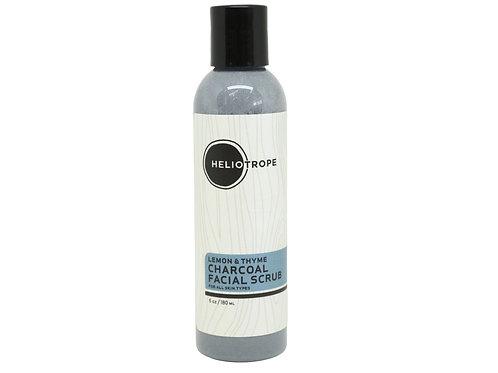 Lemon & Thyme Charcoal Face Scrub