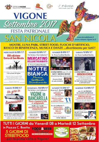 Festa Patronale S. Nicola - Vigone 2017