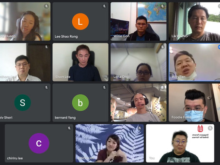Happy Chit Chat Hour with SGTUFF Committee Members