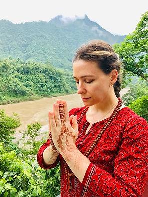 Claudia at Ganga.jpg