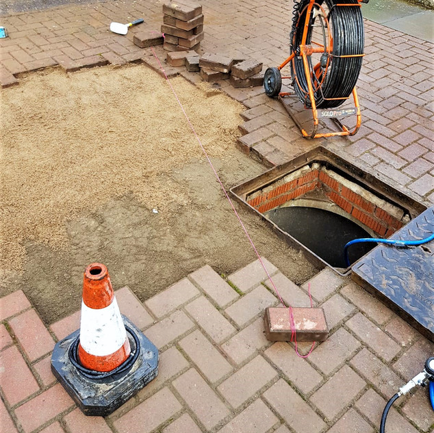 CCTV Drain Survey and Drain Repairs