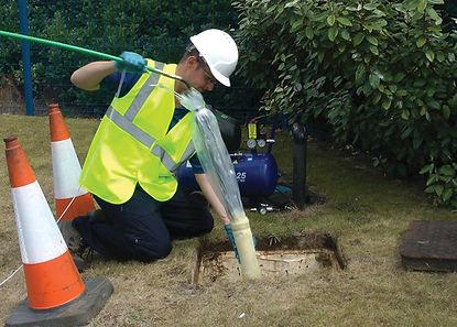 Diamond Drainage Drain Relining Aberdeen