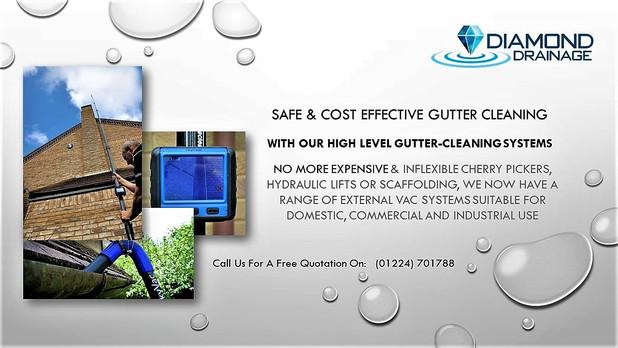 Safe Gutter Cleaning