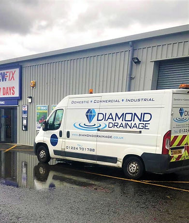 Diamond Drainage Drain Maintenance Aberdeen and Aberdeenshire