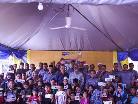 Program ''Back To School'' bersama Lumut Port - 31/12/2019