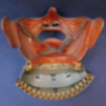 晴雅堂清水_面頬【刀剣|日本刀|鐔|小道具|骨董|日本画|洋画|書画|評価鑑定|買取】