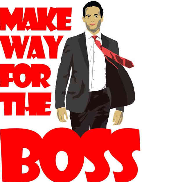 make way for the boss