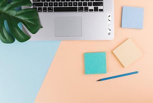 Designer Laptop Sticker