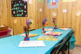 Sunday School Activity Table