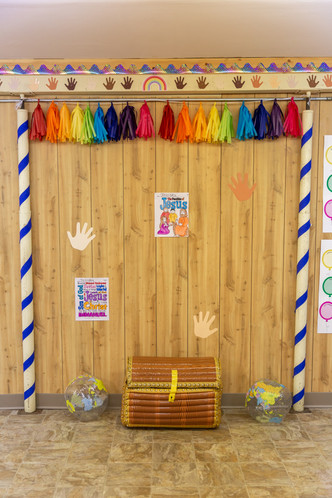 Children's Sunday School Treasure Box