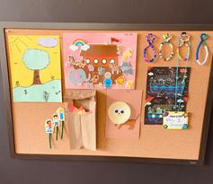 Children's Sunday School Display Board